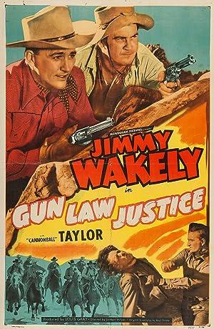 Lambert Hillyer Gun Law Justice Movie