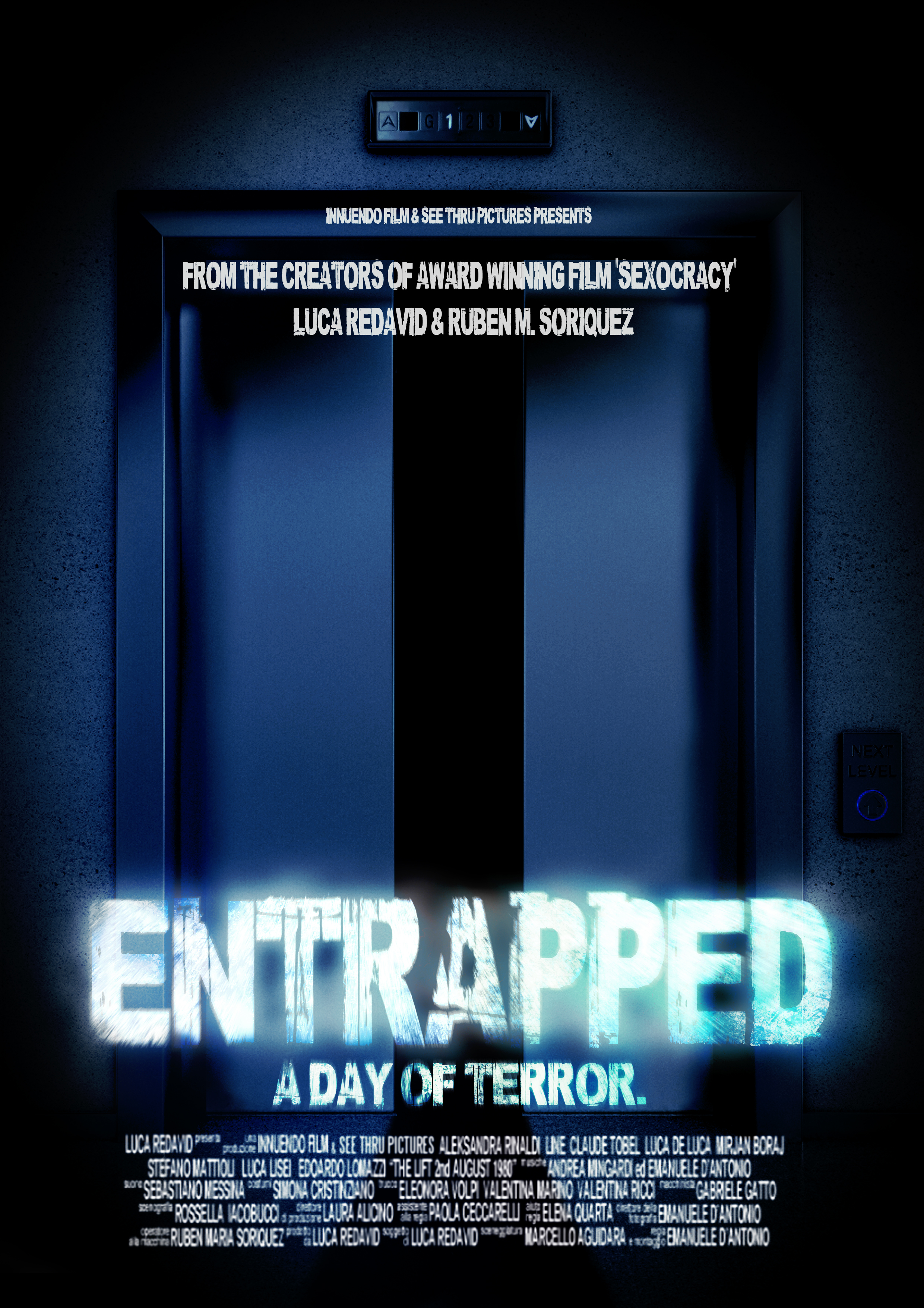 Entrapped: a day of terror (2019) Web-DL 720p HD Full Movie [In Italian] With Hindi Subtitles