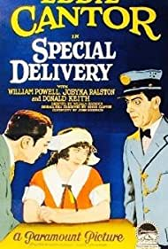 William Powell, Eddie Cantor, and Jobyna Ralston in Special Delivery (1927)