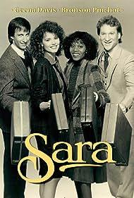 Geena Davis, Bronson Pinchot, Bill Maher, and Alfre Woodard in Sara (1985)