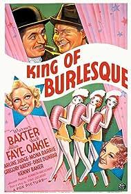Mona Barrie, Warner Baxter, Alice Faye, and Jack Oakie in King of Burlesque (1936)