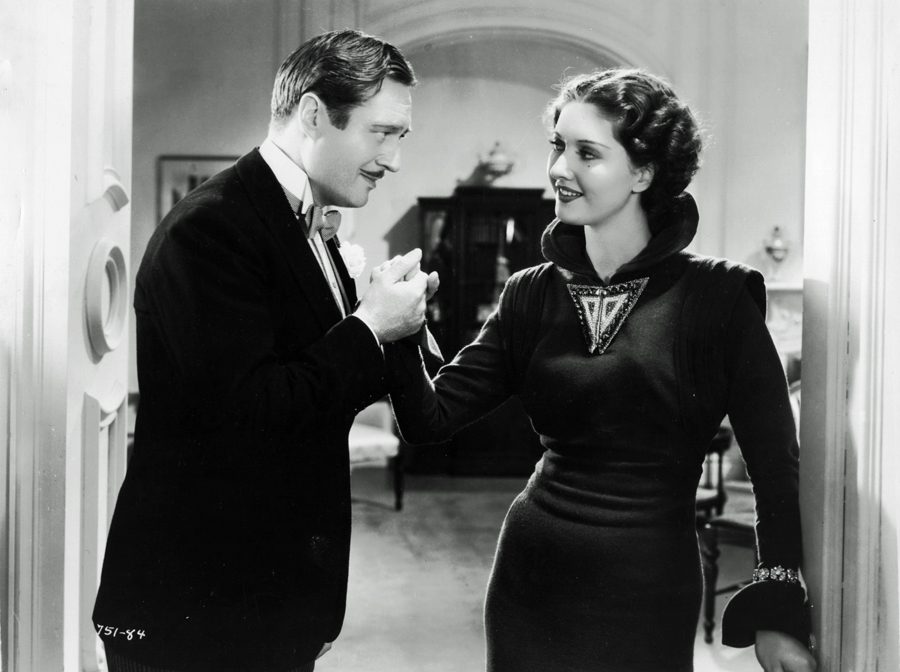 Wera Engels and Edmund Lowe in The Great Impersonation (1935)