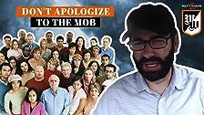 No te disculpes con la mafia