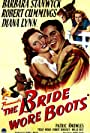 Barbara Stanwyck, Robert Cummings, and Diana Lynn in The Bride Wore Boots (1946)