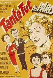 Tante Tut fra Paris Poster