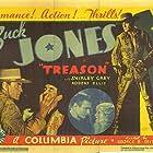 Shirley Grey, Buck Jones, and Frank Lackteen in Treason (1933)