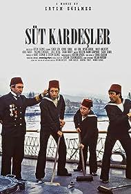 Halit Akçatepe, Ergin Orbey, Sener Sen, and Kemal Sunal in Süt Kardesler (1976)