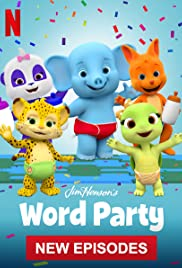 Word Party Poster