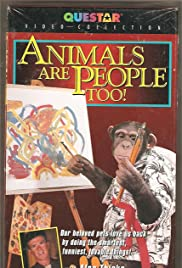 Animals Are People Too! Poster