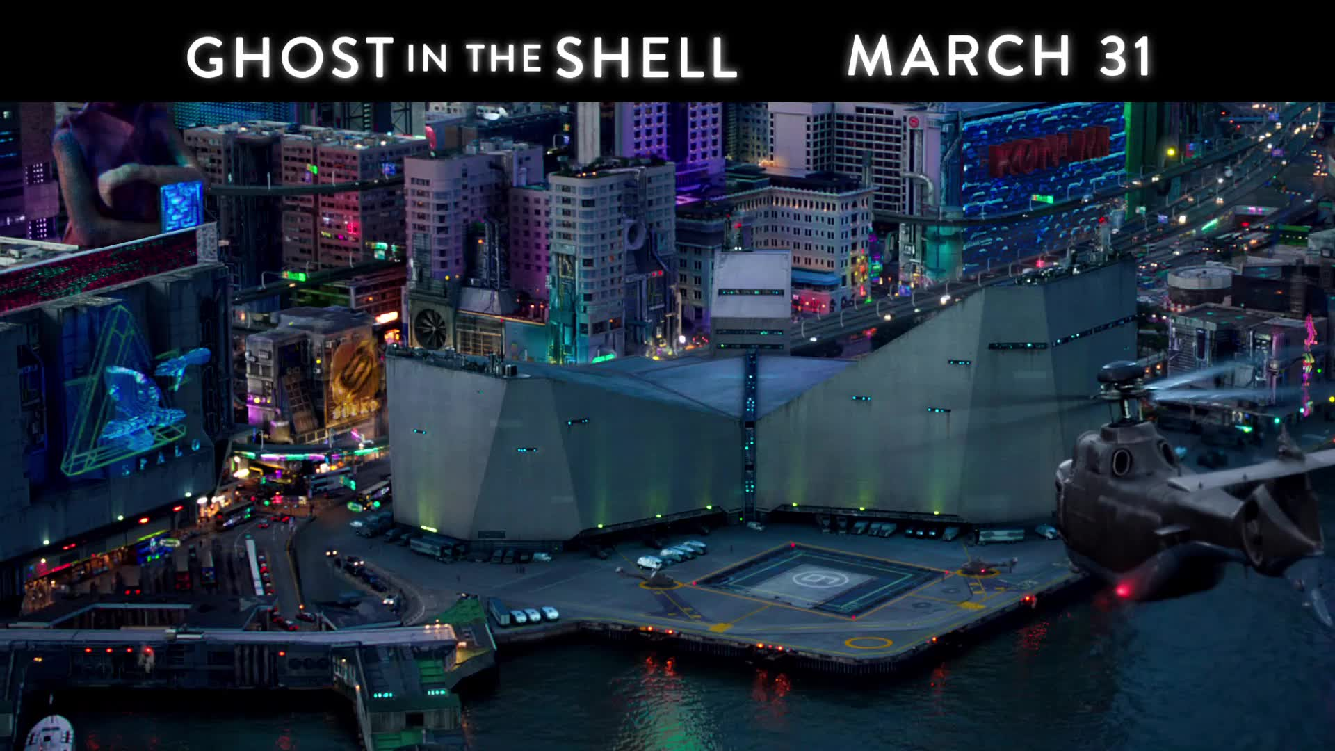 Trailer From Ghost In The Shell 2017