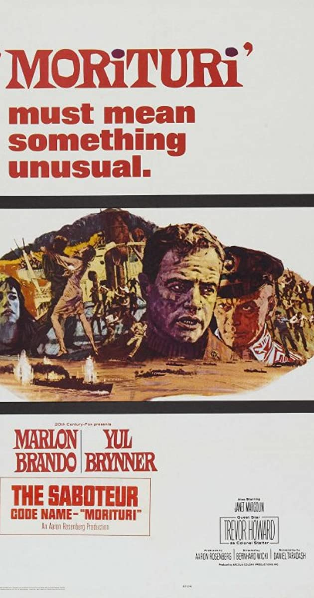 Subtitle of Morituri