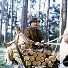 Jerzy Binczycki and Rafal Wieczynski in Lato lesnych ludzi (1985)