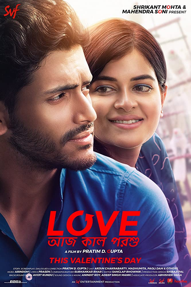 Love Aaj Kal Porshu (2020) Bengali Movie 720p HDRip ESub 800MB x264 AAC