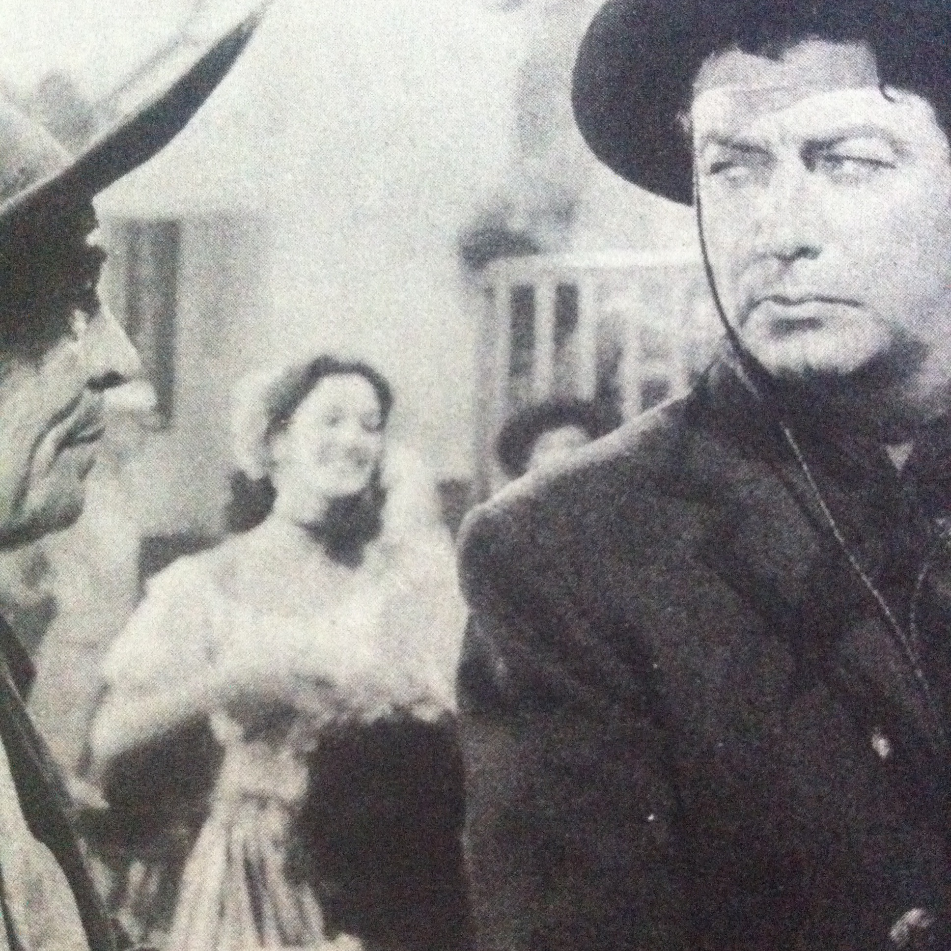 Robert Taylor and Charles Stevens in Ride, Vaquero! (1953)