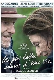 Anouk Aimée and Jean-Louis Trintignant in Les plus belles années d'une vie (2019)