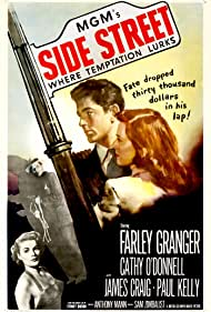 James Craig, Farley Granger, Jean Hagen, and Cathy O'Donnell in Side Street (1950)