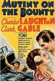 Clark Gable and Mamo Clark in Mutiny on the Bounty (1935)