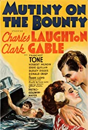 Mutiny on the Bounty (1935) Poster - Movie Forum, Cast, Reviews