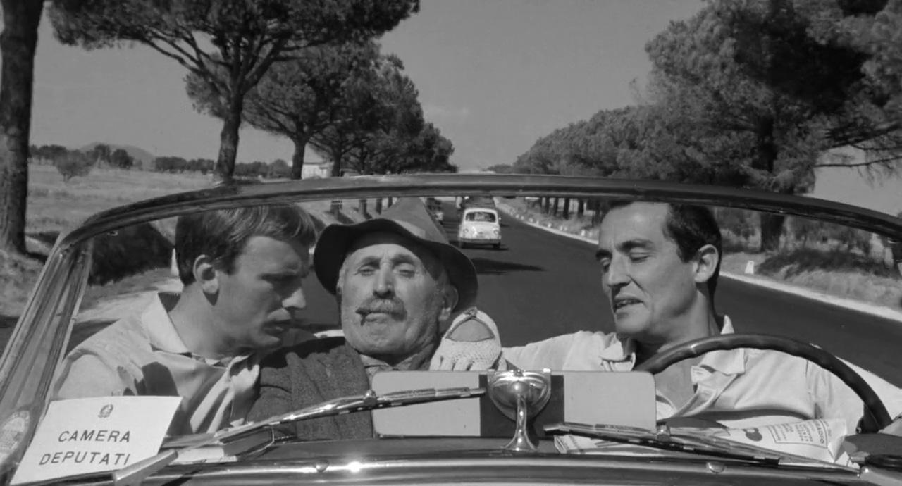 Vittorio Gassman and Jean-Louis Trintignant in Il sorpasso (1962)