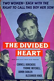 Cornell Borchers, Yvonne Mitchell, and Michel Ray in The Divided Heart (1954)