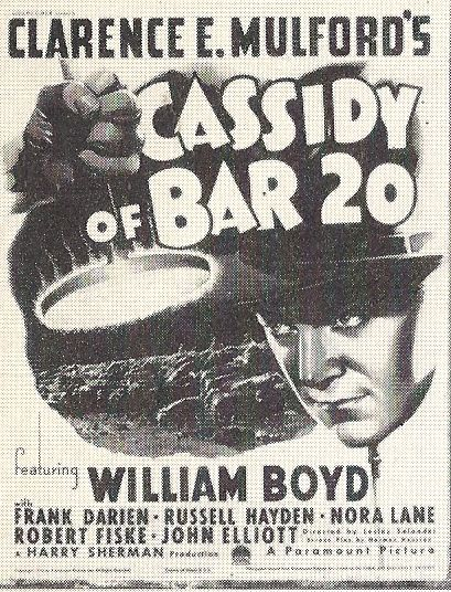 William Boyd in Cassidy of Bar 20 (1938)