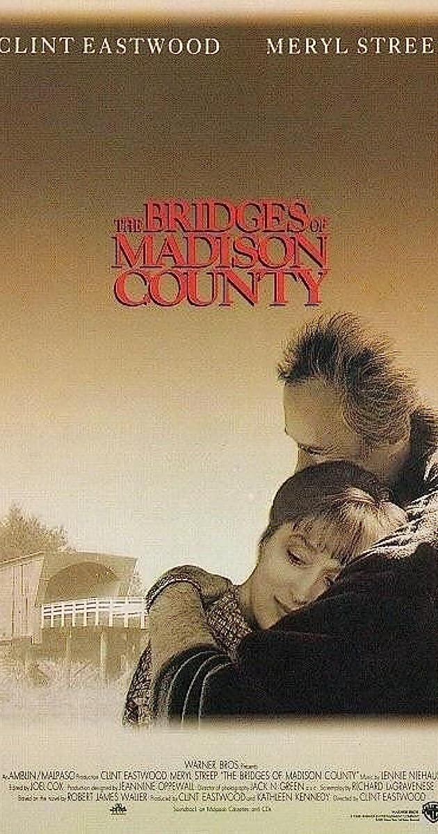 Subtitle of The Bridges of Madison County