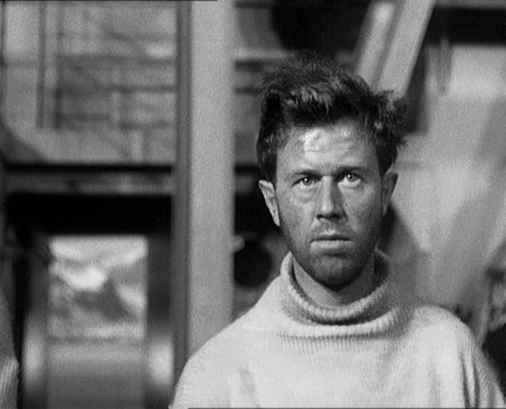 Michael Medwin in Above Us the Waves (1955)