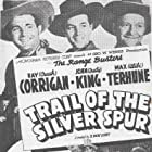 Ray Corrigan, John 'Dusty' King, and Max Terhune in Trail of the Silver Spurs (1941)