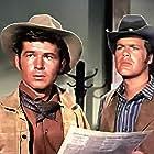 Gary Clarke and Doug McClure in The Virginian (1962)