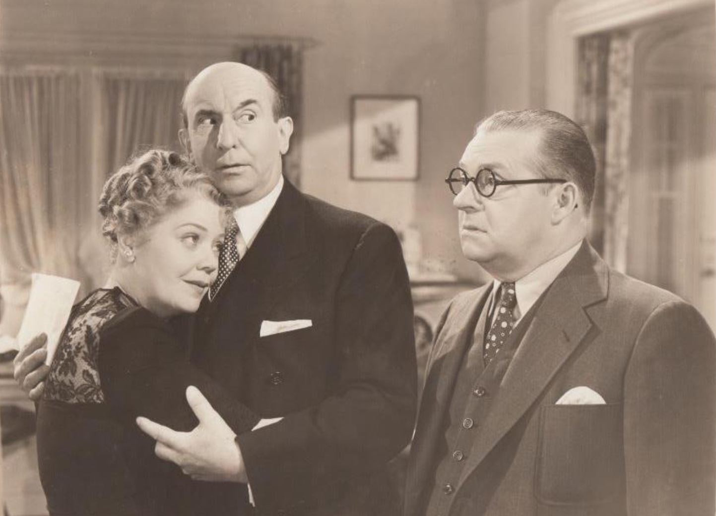 Spring Byington, Jed Prouty, and Andrew Tombes in Too Busy to Work (1939)