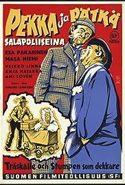 Pekka ja Pätkä salapoliiseina Poster