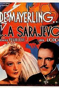 Edwige Feuillère and John Lodge in De Mayerling à Sarajevo (1940)