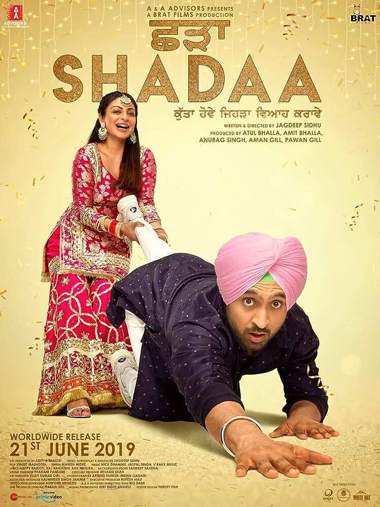Shadaa (2019) 720p Punjabi WEBRip x264 1.2GB AAC