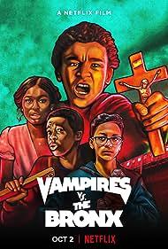 Jaden Michael, Coco Jones, Gerald Jones III, and Gregory Diaz IV in Vampires vs. the Bronx (2020)