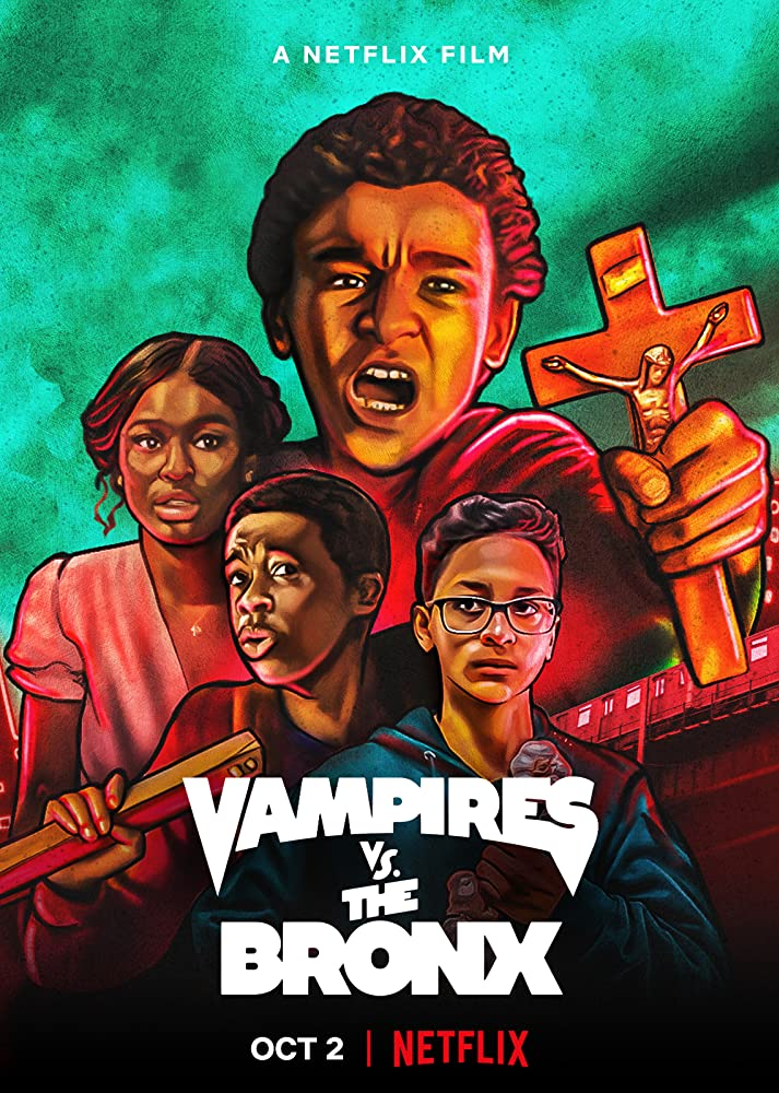 Vampires vs. the Bronx 2020 Dual Audio Hindi 300MB HDRip 480p ESubs Free Download