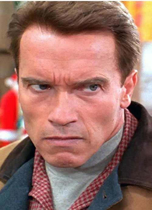 Arnold Schwarzenegger in Jingle All the Way 1996