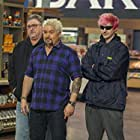 Guy Fieri, Chuck Blevens, and Tyler Blevins in Cheat Day (2019)
