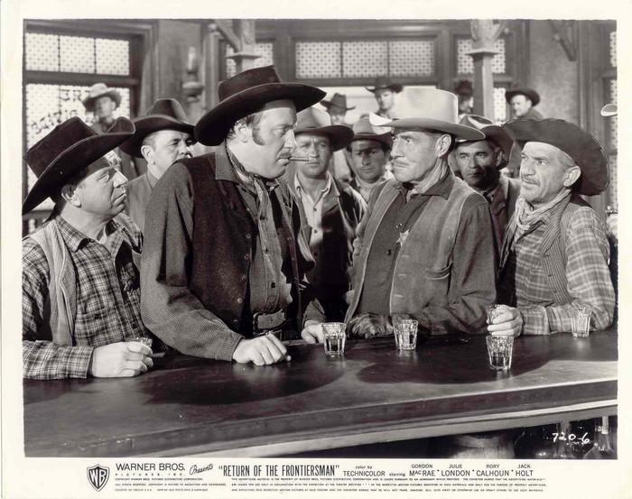 Fred Clark, Jack Holt, and Matt McHugh in Return of the Frontiersman (1950)