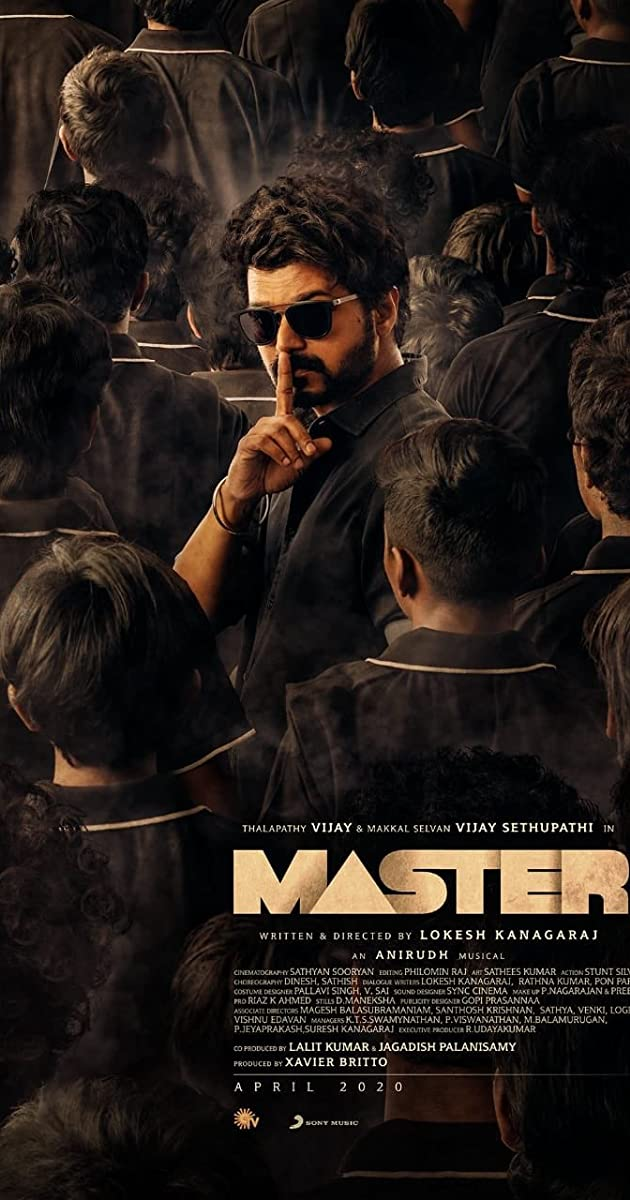 Master (2021) Hindi Dubbed 720p Pre-DVDRip 900MB Free Download