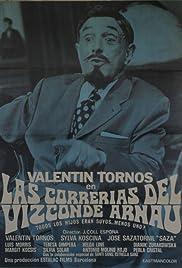 Las correrías del Vizconde Arnau Poster