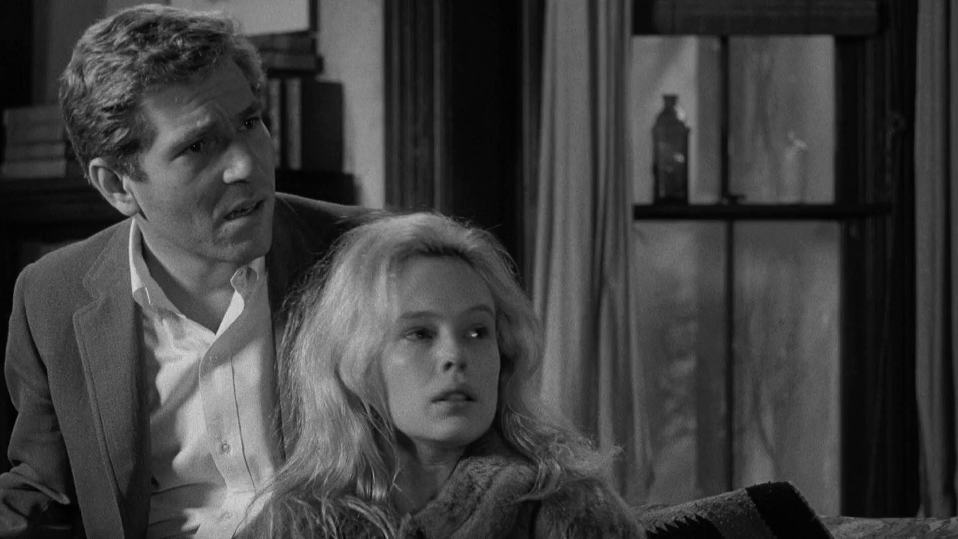George Segal and Sandy Dennis in Who's Afraid of Virginia Woolf? (1966)