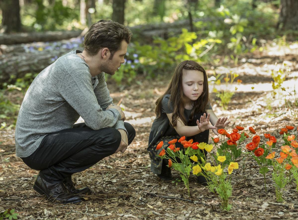 Joseph Morgan and Summer Fontana in The Originals (2013)