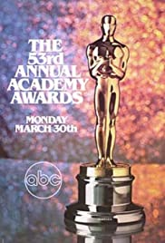 The 53rd Annual Academy Awards Poster