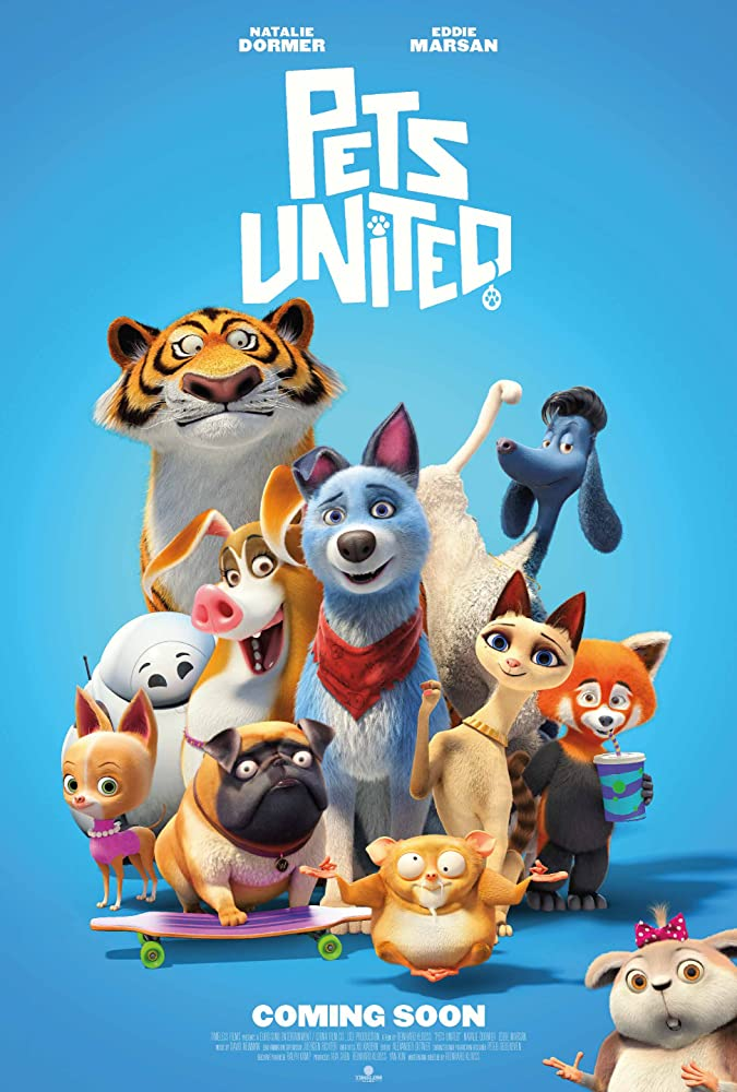 Pets United 2020 English 720p HDRip 795MB ESubs Download