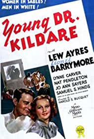 Lew Ayres and Lynne Carver in Young Dr. Kildare (1938)