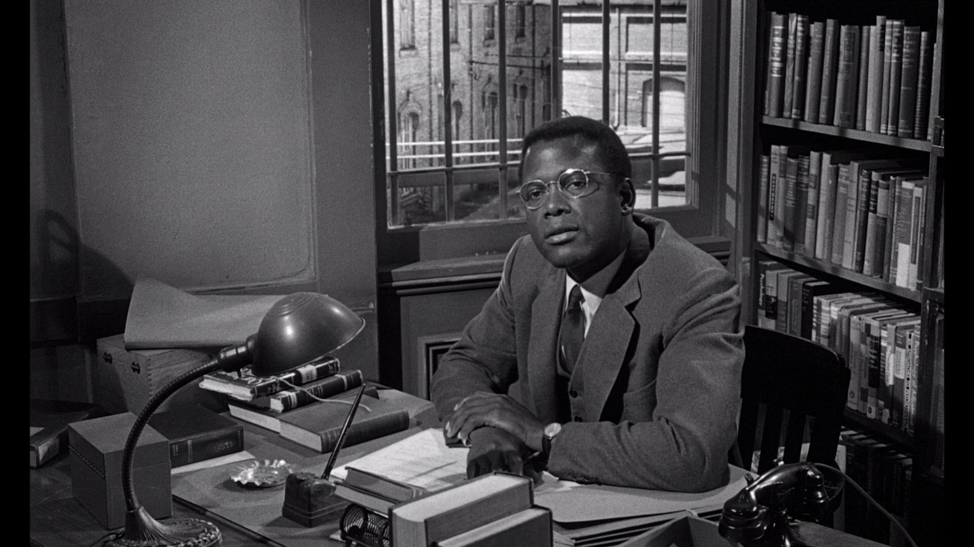 Sidney Poitier in Pressure Point (1962)