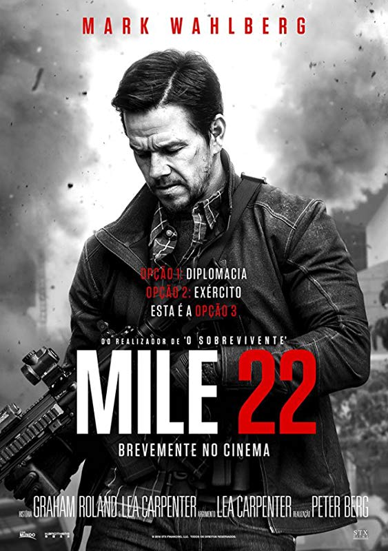 Mile 22 (2018) Dual Audio Hindi ORG 400MB BluRay 480p ESubs Download