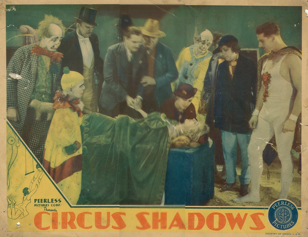 Sam Ash, Sumner Getchell, Ann Hovey, John Ince, Dorothy Revier, Roy Rice, Kane Richmond, William Ruhl, and Dorothy Wilson in Circus Shadows (1935)