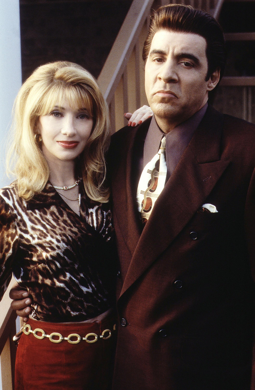 Steven Van Zandt and Maureen Van Zandt in The Sopranos (1999)