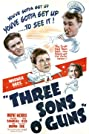 Three Sons o' Guns (1941) Poster